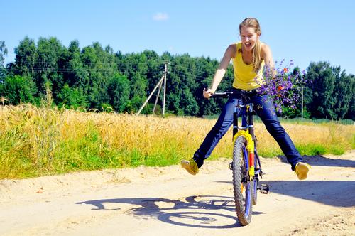 Besonders zu dieser Jahreszeit macht Fahrrad fahren richtig Spaß
