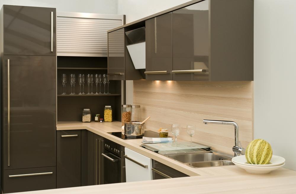 Küche in Trendfarbe Grau